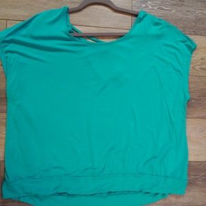 Torrid teal casual top